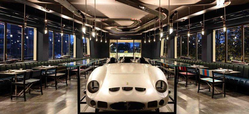 Garage italia la nuova sede del ristorante a milano con - Garage milano ristorante ...