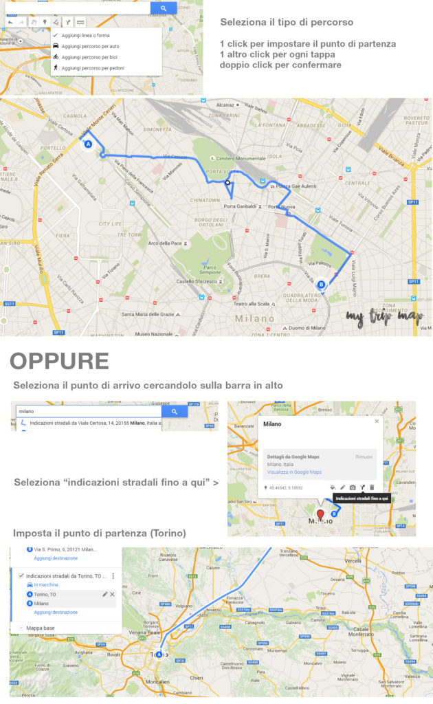 How to create a route