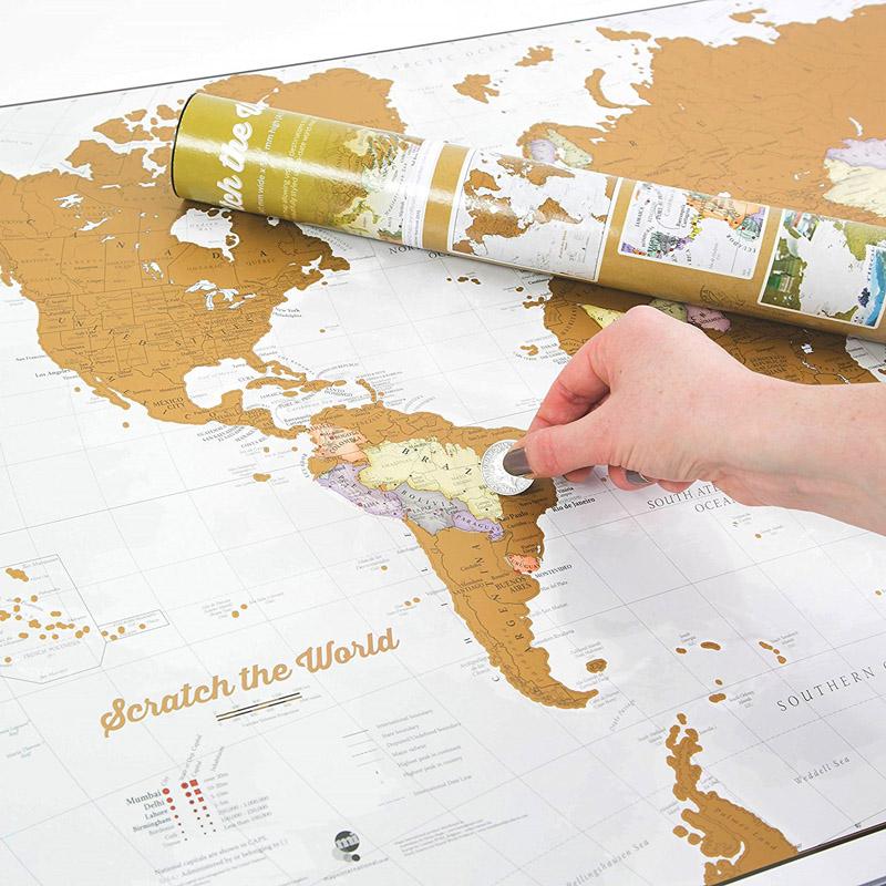 Cartina Mondo Per Viaggi.Segnare Sulla Mappa I Posti Del Mondo Visitati Mytripmap