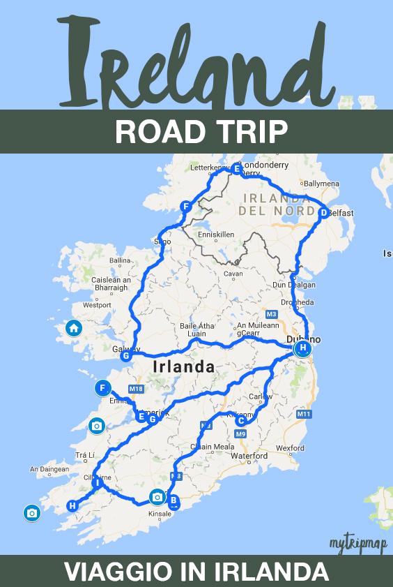 viaggio-in-irlanda-mappa