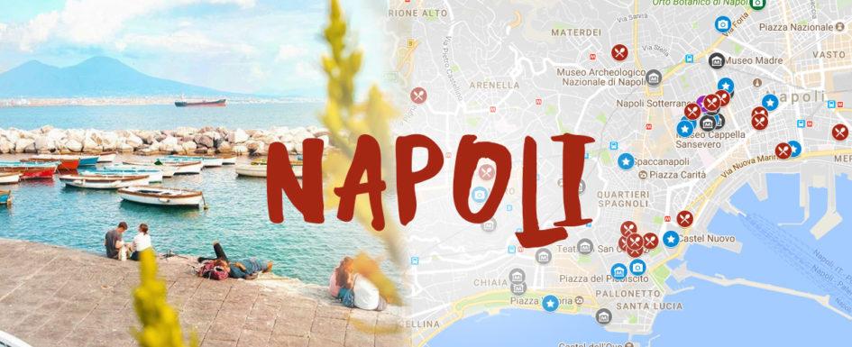La Cartina Di Napoli.Mappa Di Napoli Cosa Fare Vedere E Mangiare Mytripmap