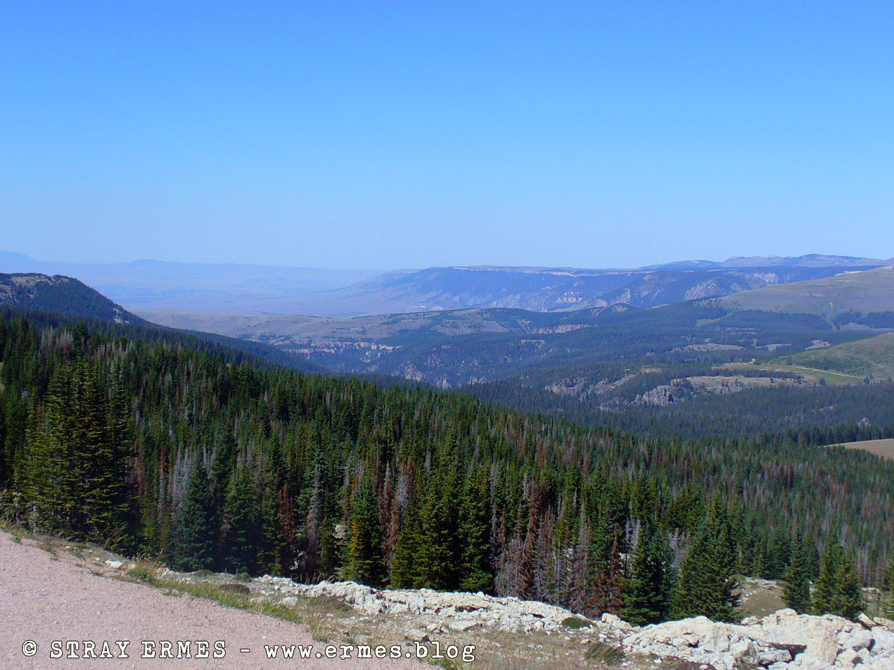 Black Hills: veduta da Medicine Wheel