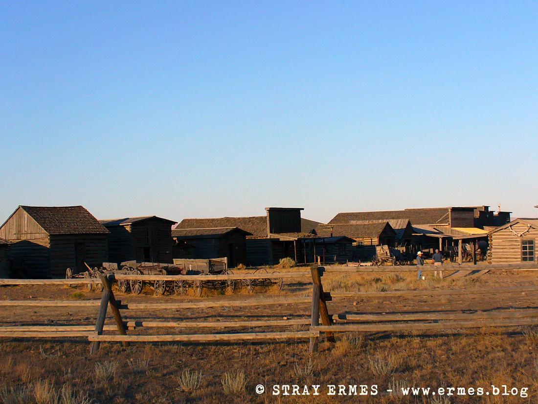 South Dakota: verso le Black Hills Black Hills: veduta da Medicine Wheel