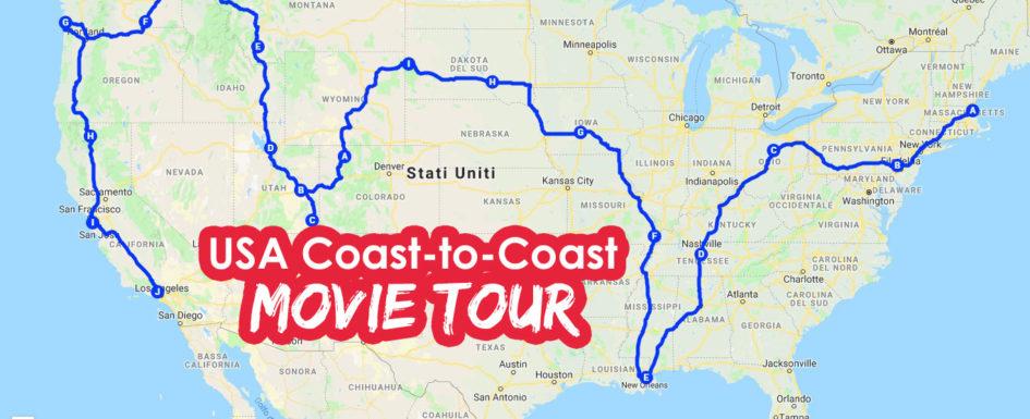 USA movie tour