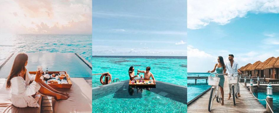 Influencers alle Maldive