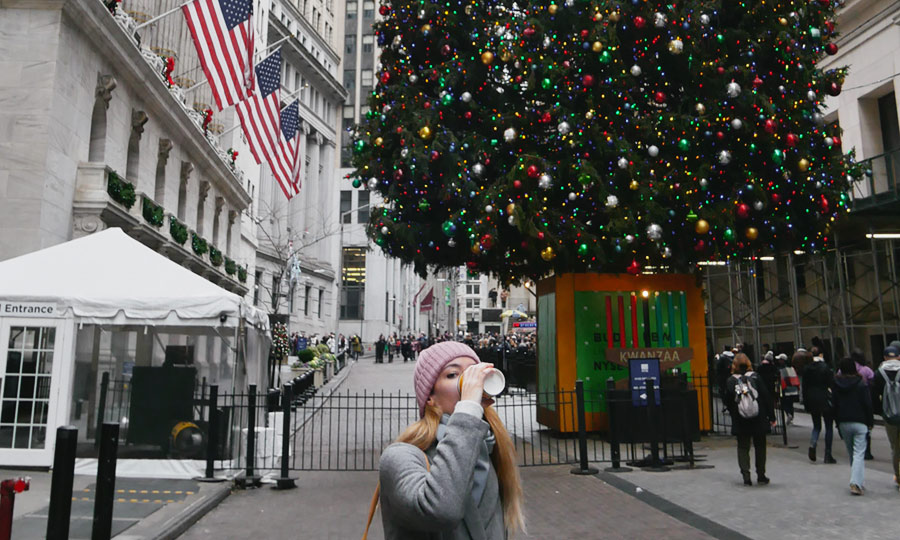 natale new york wall street